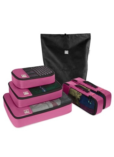 Fagel Travel 6Lı Maxi Set Pembe